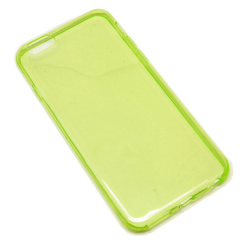 Ultra Thin Silicone Materials Case Protection Shell for iPhone 6/6s - Yellow