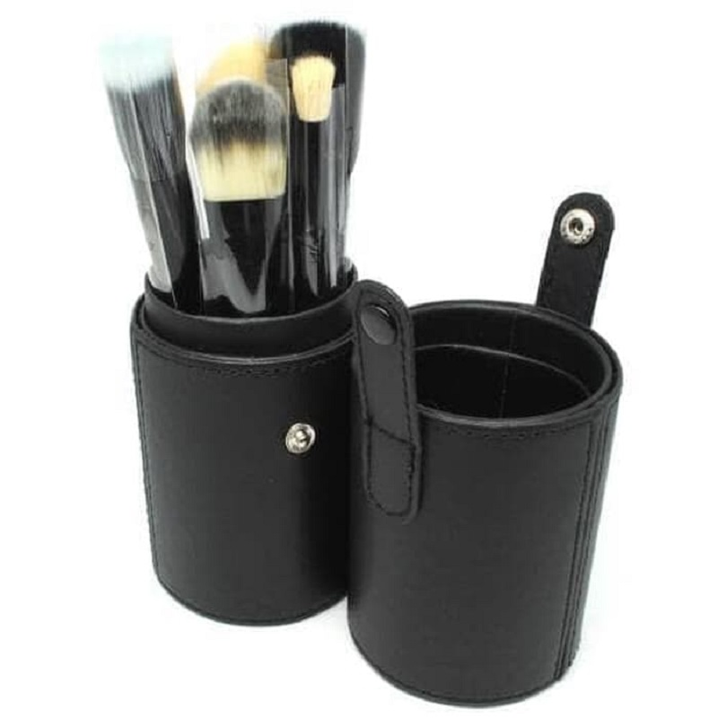Brush Make Up 12 Set dengan Case/Pouch - Kuas Alat Kecantikan