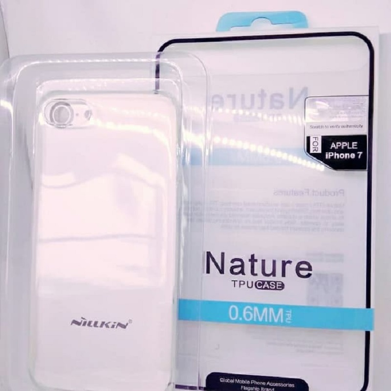 Iphone 7/8 High Quality Ultra Thin Clear JELLY Case NillkiN