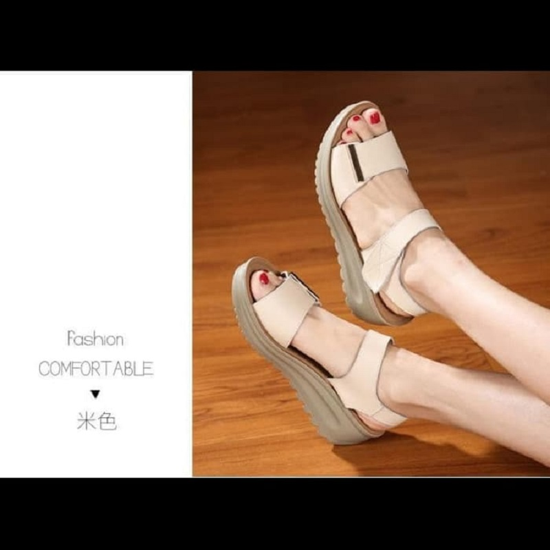 WEDGES LAYLA WG66 CREAM