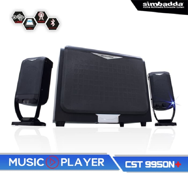 Simbadda Music Player CST 9950 N+