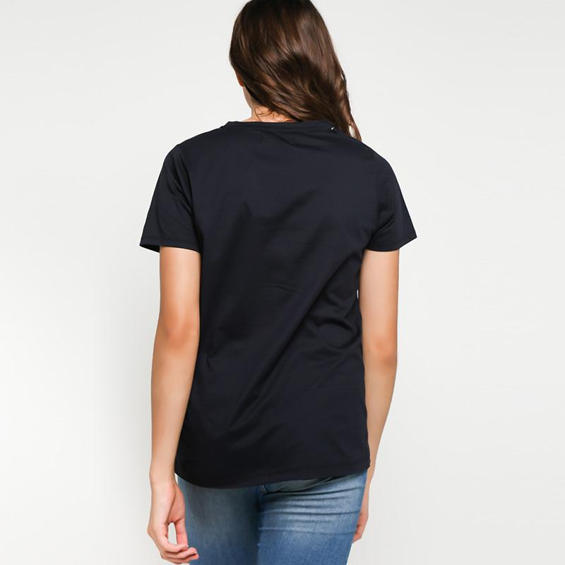 3 Second Ladies 157111822 T-Shirt Wanita - Black