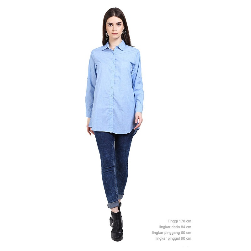 Rodeo Tunic Motif Blue