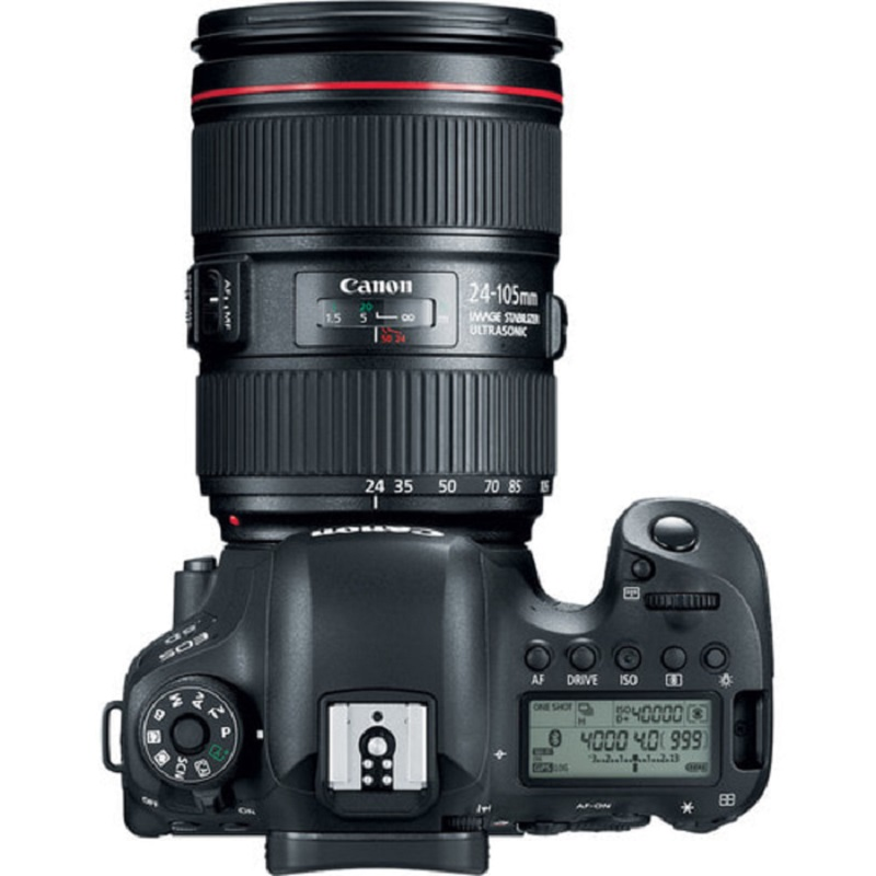 Canon EOS 6D Mark II DSLR with 24-105mm f4