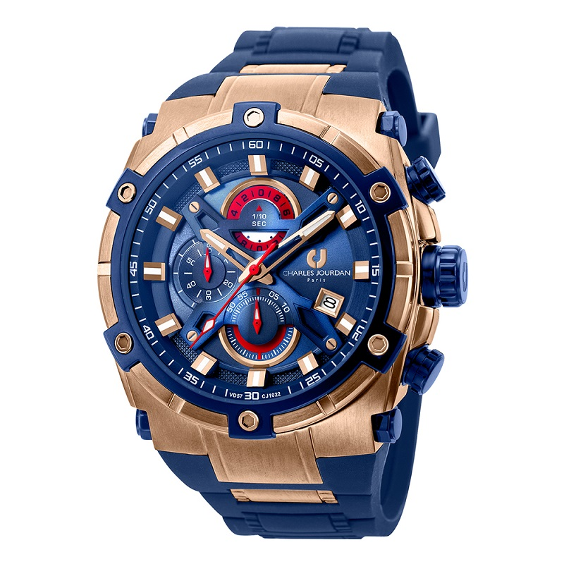 Charles Jourdan CJ10221582C  Blue Rosegold