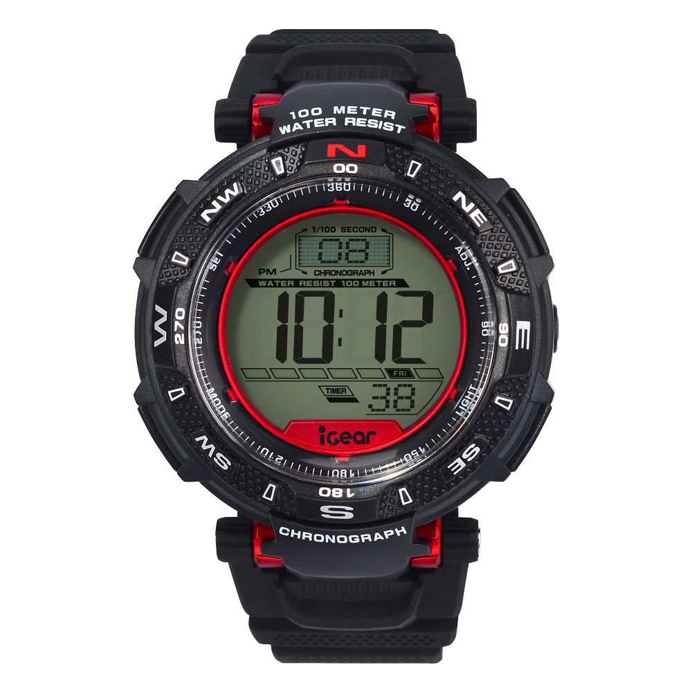 iGear  I311968  Black Red