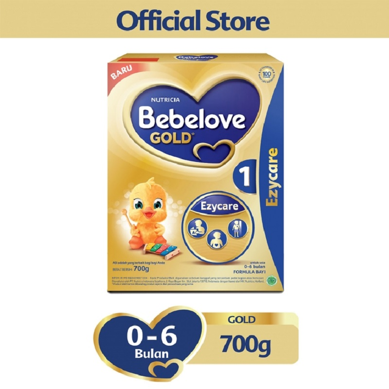 Bebelove Gold 1 700gr Box