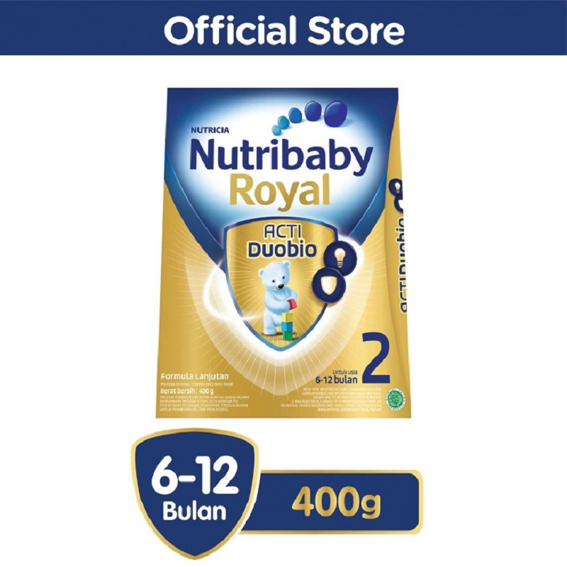 Nutribaby Royal 2 Plain 400gr Box