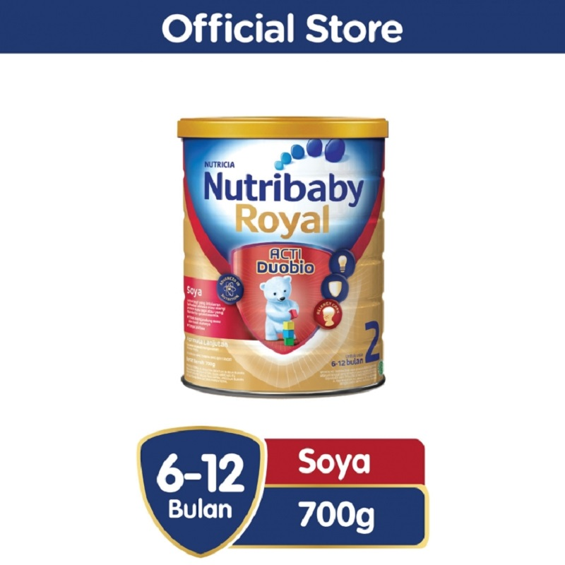 Nutribaby Royal Soya 2 700gr Tin