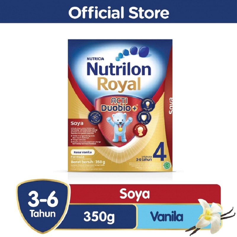 Nutrilon Royal Soya 4 Pronutra Vanila 350gr Box