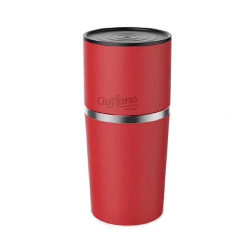 Cafflano Klassic Coffee Maker All In One - Merah