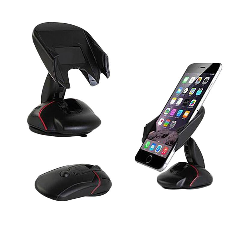 Aimons Deformable Car Smartphone Mouse Holder Phone Holder Bentuk Mouse