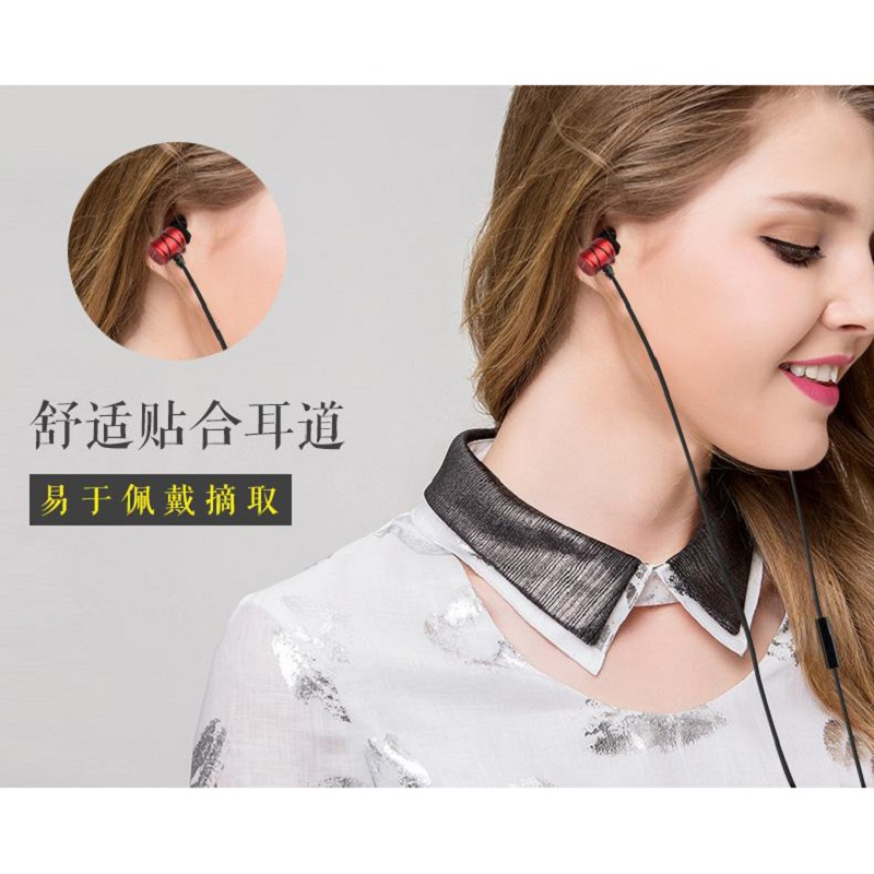 Awei Earphone Ultimate Smart with Mic - ES910i - Black