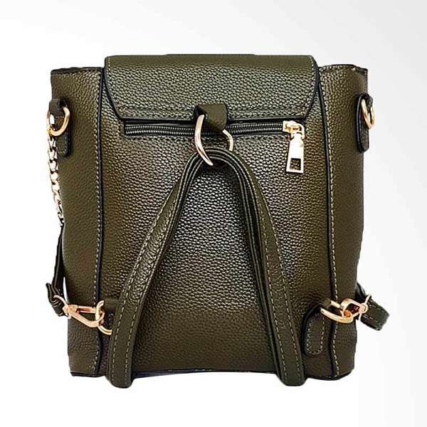 Catriona By Cocolyn Weizz Backpack Green