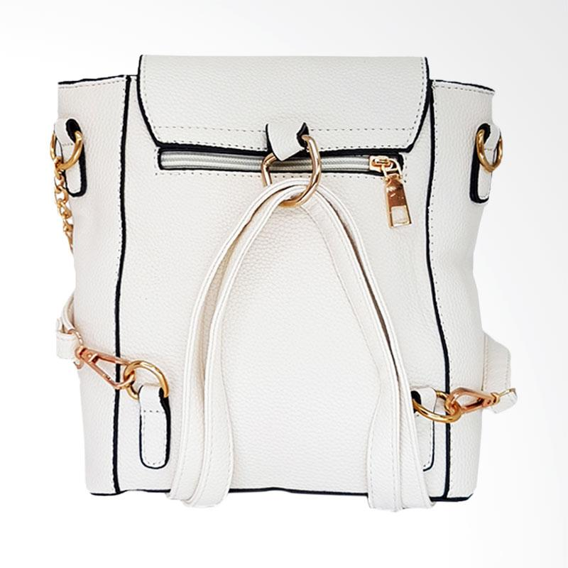 Catriona By Cocolyn Weizz Backpack  White