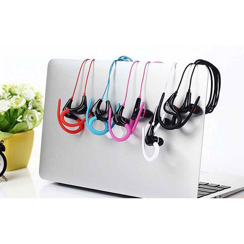 Earphone Sport Extra Bass Handsfree with Microphone - SF-878 - Black