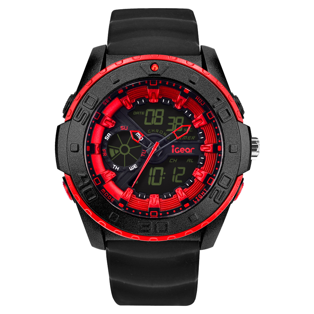 iGear I181968  Black Red