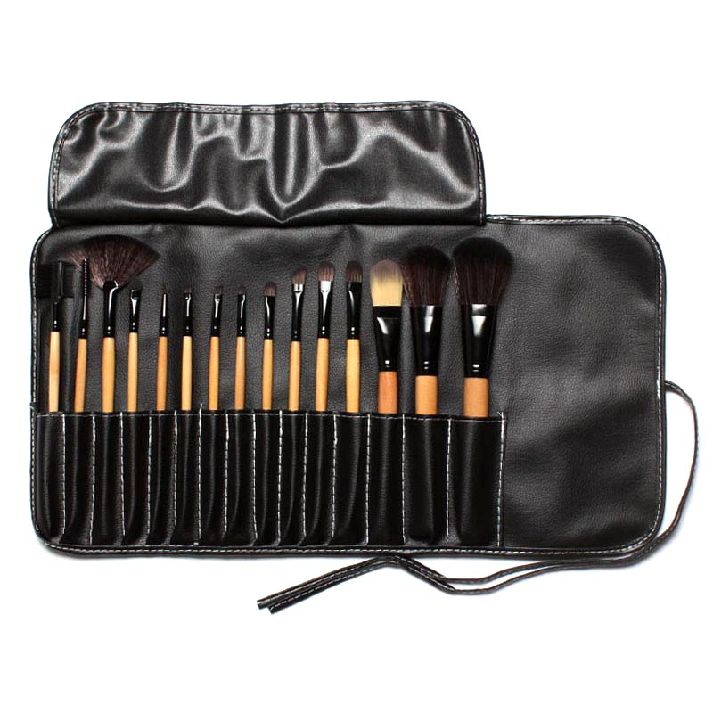 Kuas Make Up Profesional 15 PCS - XZ15 - Black