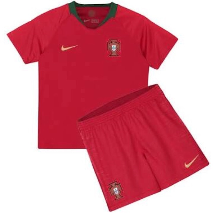 Jersey Anak Portugal Home