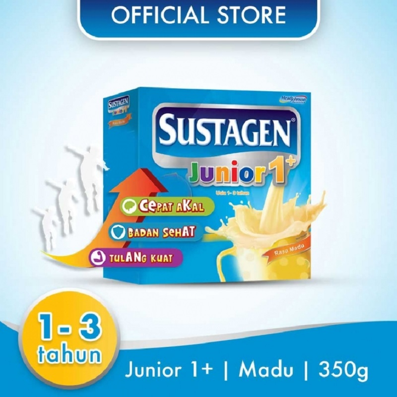 Sustagen Junior 1+ Madu 350gr Box