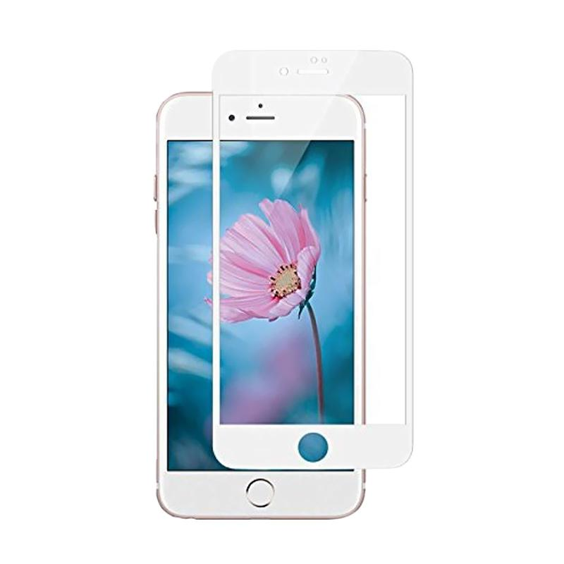 Tempered Glass Screen Protector for iPhone 7  White