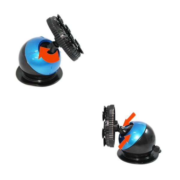 Terios Multifungsi Phone Holder with Vacum Suction Cup Holder Globe