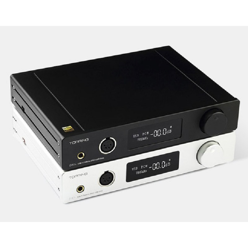 Topping DX7s Balanced DAC Headphone Amplifier - Black