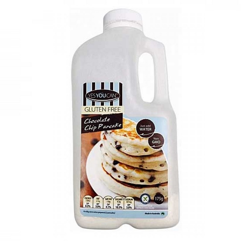 Yes You Can, PREMIUM Chocolate Chip Premix Pancake 175gr, GLUTEN FREE!